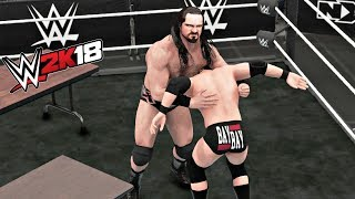 WWE 2K18 Gameplay   Drew McIntyre vs Adam Cole NXT Championship Tables Match (NXT Takeover Orlando)