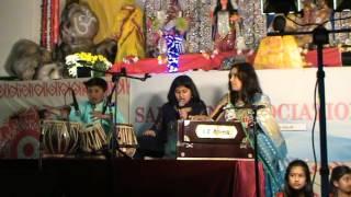 Gour Gour Gour Bole, Moulika  - Sanaton Association - Durga Puja - childrens Songs