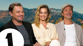 """Just ****ing do it!"" Leonardo DiCaprio, Brad Pitt & Margot Robbie on Tarantino"