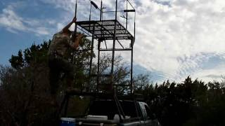 How To: Hog Hunting, Texas Hunting Truck Tower