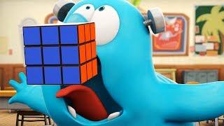 Funny Animated Cartoon | Spookiz | Frankie Swallowed A Rubik
