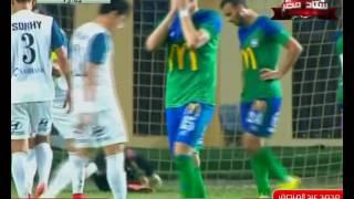 ملخص تصديات محمد عبد المنصف فى مباراة مصر للمقاصة 0 - 2 إنبي