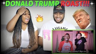 "Tutweezy ""Donald Trump ROAST - (Freestyle)"" REACTION!!!"