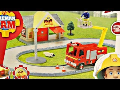 Fire Station & Jupiter Remiza Strażacka i Jupiter Fireman Sam Character 05427