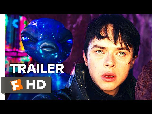 Valerian and the City of a Thousand Planets Trailer #1 (2017)   Movieclips Trailers
