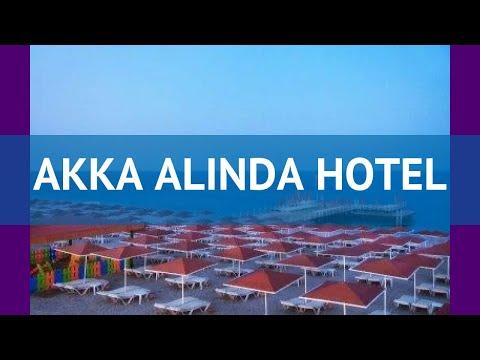 AKKA ALINDA HOTEL 5* Турция Кемер обзор – отель АККА АЛИНДА ХОТЕЛ 5* Кемер видео обзор