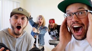 SURPRISE PERFORMANCE IN THEIR HOME!!