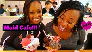 Japanese Maid Cafe ~ Our Experience | Tokyo Japan