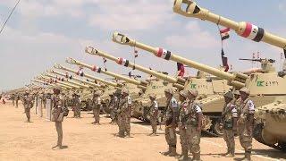 الجيش المصرى 2016  - ولقطات ارعبت العالم لتشكيل صغير من الجيش الثالث الميدانى بـ الجيش المصري العظيم
