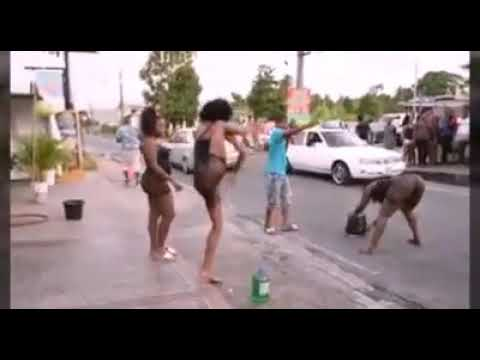 Xxx Mp4 Jamaican Girls Dancing In Street Showing Fat Pussy Block Traffic In Portmore Must Watch 2018 3gp Sex
