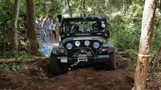 offroad event  thar crde...