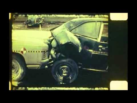 Legendary Crash test 1971 Chevrolet Impala vs 1972 Ford Pinto Rear Impact 00032 15.2.1978 10°C