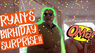 RYAN'S BEST BIRTHDAY SURPRISE EVER ON A 4 STORY YACHT!!!