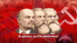 Hymn of the USSR - Red Army Choir (English Sub.)