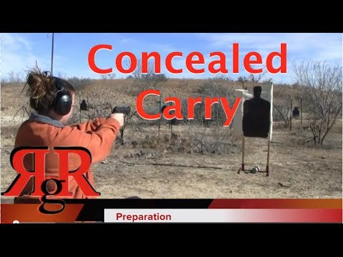 Concealed Carry Course Shooting Prep - Multiple Guns