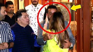 Sanjay Dutt And Sussanne Khan's AWKWARD Kiss At Diwali Bash Go VIRAL