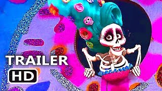 """COCO """"Music Is Life"""" Official Clip + Trailer (2017) Disney Pixar Animation Movie HD"""