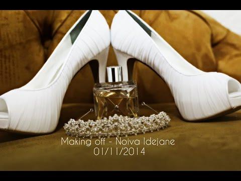 Making off Noiva Idejane 01 11 2014 em PG Hair Salon