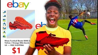 I Bought Football Boots for $1.. & THEY WERE AMAZING (Played Like Neymar Jr)