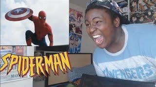 Marvel's Captain America: Civil War Trailer #2 Reaction | Spiderman Is Here!!!