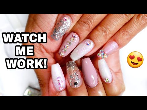 WATCH ME WORK Classy Coffin Nails