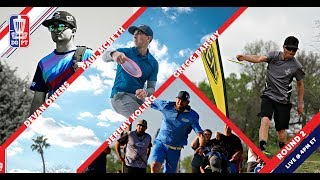 Disc Golf Pro Tour: The Waco Charity Open - Round Two