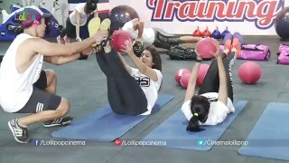 Top Telugu Heroines Rakul Preet, Rashi, Regina Work Out At Gym With Raviteja & Rana