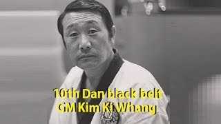 Grand Master Kim Ki Whang 10 Degree Taekwondo (10°Dan) Kukkiwon