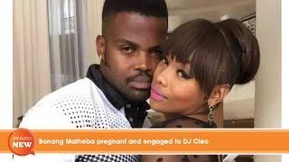 Hot new: Bonang Matheba pregnant and engaged to DJ Cleo