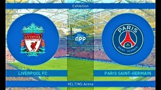 Liverpool vs PSG | Full Match & Amazing Goals 2018 | PES 2019 Gameplay HD