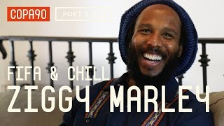 FIFA and Chill With Ziggy Marley   Poet & Vuj Present!