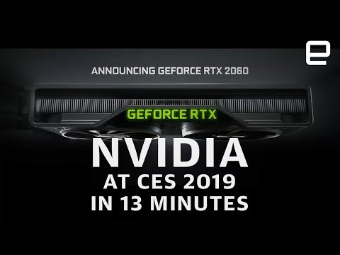 Xxx Mp4 NVIDIA At CES 2019 In 13 Minutes More Power For Less 3gp Sex