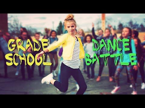 GRADE SCHOOL DANCE BATTLE! BOYS VS GIRLS!  ScottDW - We Came To Dance