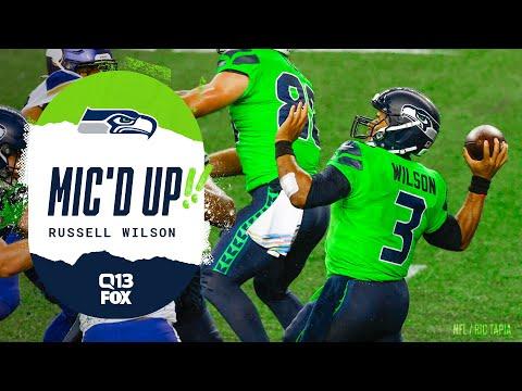 Russell Wilson Mic d Up vs Vikings Seahawks Saturday Night