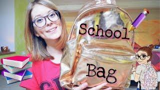 What's in my school bag ? #3 ♡