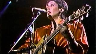 JOAN BAEZ 1986 video performance:  Night They Drove Old Dixie Down