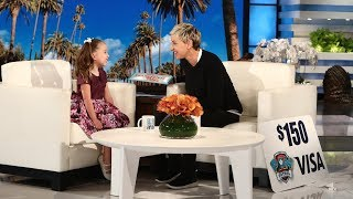 Ellen Gives Brielle a