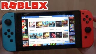 ROBLOX Website On The Nintendo Switch! (Simple Tutorial)