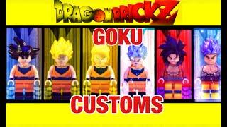 LEGO DBZ GOKU CUSTOM ET TRANSFORMATIONS