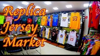 Fake market jerseys, kits. nike, adidas all knockoff. NBA, NHL, NFL, MLB, FIFA