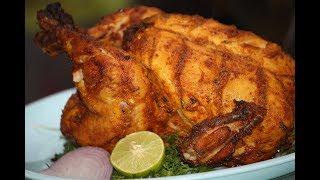 How To Make Whole Chicken Tandoori in Microwave | Desi Zaiqa
