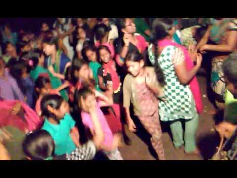 south indian hostel girls cute folk dance