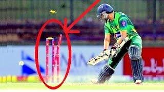 Best Destructive Pace Bowling in Cricket ● Stumps Broken ● Stumps Flying in Air ●