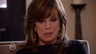 J.R. comforts Sue Ellen after she lost the election & their sweet front door scene