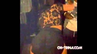 Rapper Trina Twerking in the club to T-Pain!