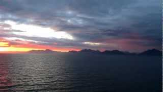 RFH 2012-12-22 inctedible sunset on Navimag from Puerto Montt to Puerto Natales #5