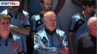 La selección española, de foto en foto rumbo a Polonia