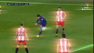 Great Goal of Coutinho 5 1 FC Barcelona B vs Girona FC ae trans 2 with cc