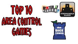 Top 10 Area Control Games