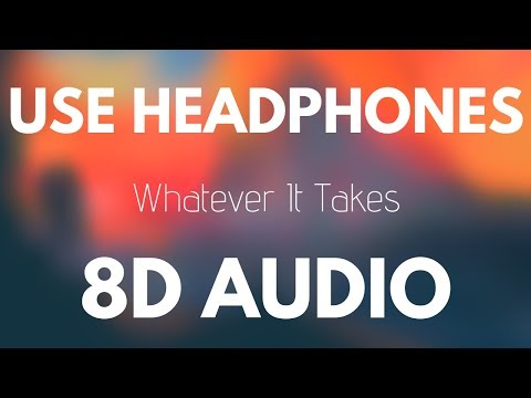 Download Imagine Dragons - Whatever It Takes (8D AUDIO) free